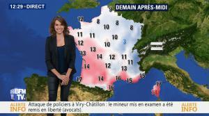 Fanny Agostini à la Météo de BFM TV - 13/12/16 - 04