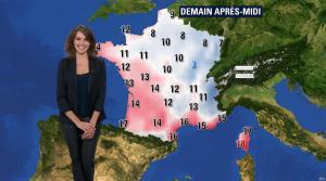 Fanny Agostini à la Météo de BFM TV - 13/12/16 - 05