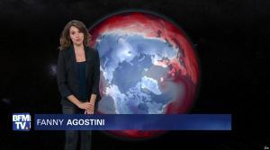 Fanny Agostini à la Météo de BFM TV - 13/12/16 - 06