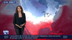 Fanny Agostini à la Météo de BFM TV - 13/12/16 - 07
