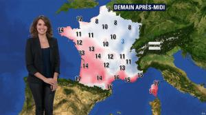 Fanny Agostini à la Météo de BFM TV - 13/12/16 - 08
