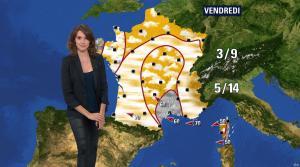 Fanny Agostini à la Météo de BFM TV - 13/12/16 - 09