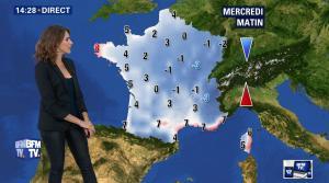 Fanny Agostini à la Météo de BFM TV - 13/12/16 - 12