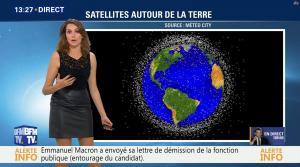 Fanny Agostini à la Météo de BFM TV - 17/11/16 - 01
