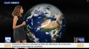 Fanny Agostini à la Météo de BFM TV - 17/11/16 - 02