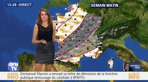 Fanny Agostini à la Météo de BFM TV - 17/11/16 - 03