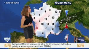 Fanny Agostini à la Météo de BFM TV - 17/11/16 - 05
