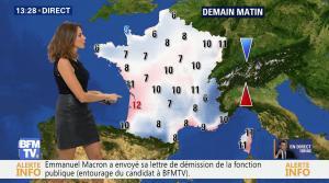 Fanny Agostini à la Météo de BFM TV - 17/11/16 - 06