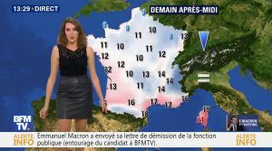 Fanny Agostini à la Météo de BFM TV - 17/11/16 - 07