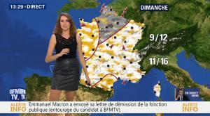 Fanny Agostini à la Météo de BFM TV - 17/11/16 - 09
