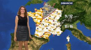 Fanny Agostini à la Météo de BFM TV - 17/11/16 - 10