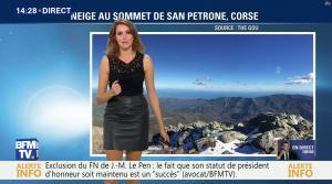 Fanny Agostini à la Météo de BFM TV - 17/11/16 - 11