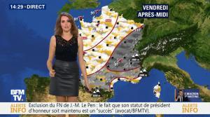 Fanny Agostini à la Météo de BFM TV - 17/11/16 - 12