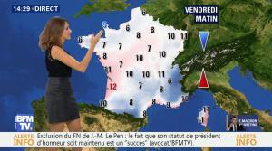 Fanny Agostini à la Météo de BFM TV - 17/11/16 - 13