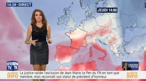 Fanny Agostini à la Météo de BFM TV - 17/11/16 - 14