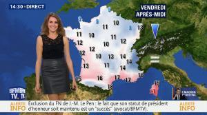 Fanny Agostini à la Météo de BFM TV - 17/11/16 - 15