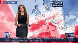 Fanny Agostini à la Météo de BFM TV - 17/11/16 - 18