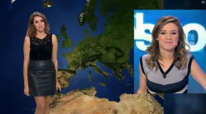 Fanny Agostini à la Météo de BFM TV - 17/11/16 - 20