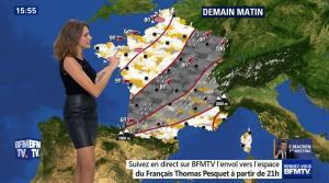 Fanny Agostini à la Météo de BFM TV - 17/11/16 - 21