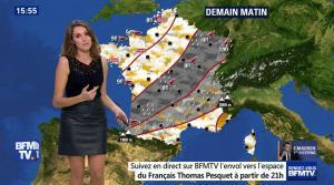 Fanny Agostini à la Météo de BFM TV - 17/11/16 - 22