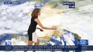 Fanny Agostini à la Météo de BFM TV - 25/11/16 - 02