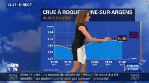 Fanny Agostini à la Météo de BFM TV - 25/11/16 - 04