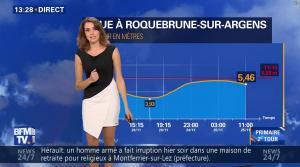 Fanny Agostini à la Météo de BFM TV - 25/11/16 - 05