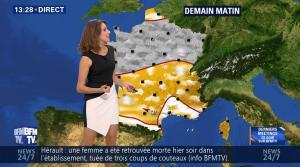 Fanny Agostini à la Météo de BFM TV - 25/11/16 - 06
