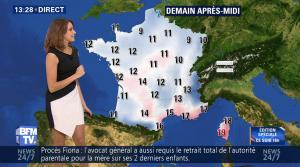 Fanny Agostini à la Météo de BFM TV - 25/11/16 - 07