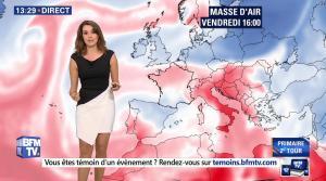 Fanny Agostini à la Météo de BFM TV - 25/11/16 - 08