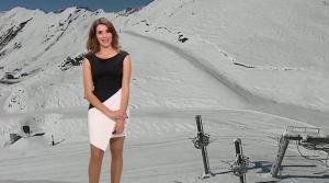 Fanny Agostini à la Météo de BFM TV - 25/11/16 - 10