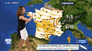 Fanny Agostini à la Météo de BFM TV - 25/11/16 - 12