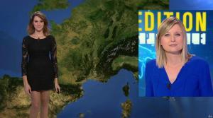 Fanny Agostini à la Météo de BFM TV - 28/11/16 - 01