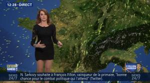 Fanny Agostini à la Météo de BFM TV - 28/11/16 - 03