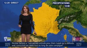 Fanny Agostini à la Météo de BFM TV - 28/11/16 - 04