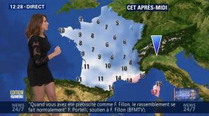 Fanny Agostini à la Météo de BFM TV - 28/11/16 - 05