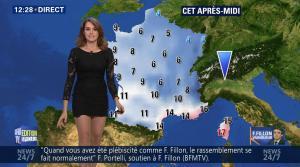 Fanny Agostini à la Météo de BFM TV - 28/11/16 - 07