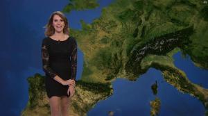Fanny Agostini à la Météo de BFM TV - 28/11/16 - 10