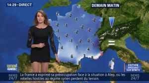 Fanny Agostini à la Météo de BFM TV - 28/11/16 - 16