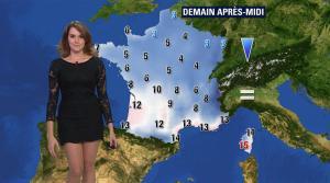 Fanny Agostini à la Météo de BFM TV - 28/11/16 - 18
