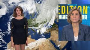 Fanny Agostini à la Météo de BFM TV - 28/11/16 - 22