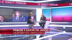 Laurence Ferrari dans le Direct Ferrari - 03/10/16 - 01