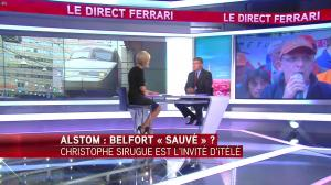 Laurence Ferrari dans le Direct Ferrari - 04/10/16 - 10