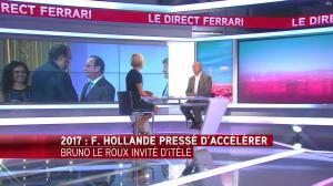 Laurence Ferrari dans le Direct Ferrari - 06/09/16 - 02