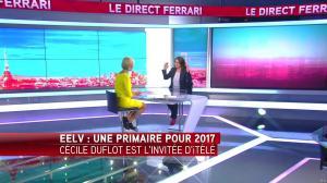 Laurence Ferrari dans le Direct Ferrari - 12/10/16 - 15