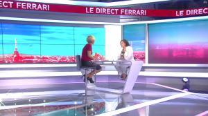 Laurence Ferrari dans le Direct Ferrari - 13/09/16 - 07