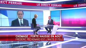Laurence Ferrari dans le Direct Ferrari - 26/09/16 - 11