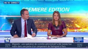 Pascale De La Tour Du Pin dans Première Edition - 01/11/16 - 10