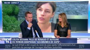 Pascale De La Tour Du Pin dans Première Edition - 05/10/16 - 13