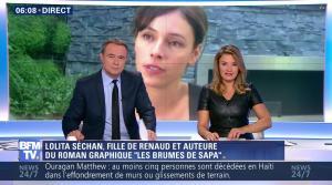 Pascale De La Tour Du Pin dans Première Edition - 05/10/16 - 14